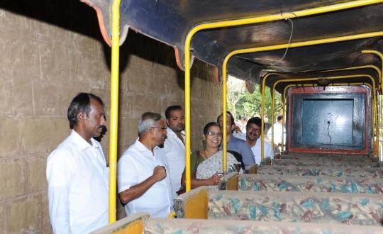 New Children's Train to Chug off in Three Months at Kadri Park – MLA J R Lobo