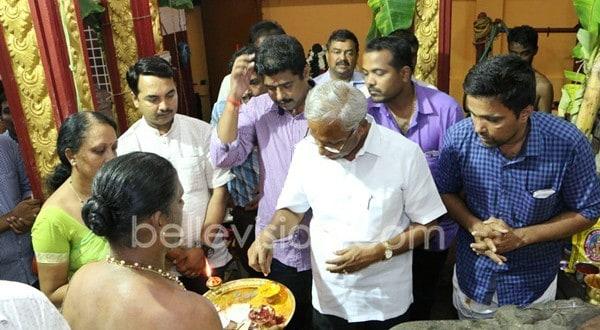 Mangaluru: MLA J R Lobo assures Rs 10 lac for community bldg at Chowdeshwaridevi Temple