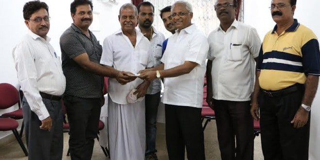 Mangaluru: Rs 1 lac cheque issued to Shivapadav Temple, Kulshekar