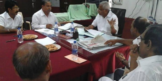 Mangaluru: MLA J R Lobo chairs progress review meeting of Govt Women PU College