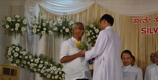 Silver Jubilee of Priesthood of Fr. Denis D'Sa observed with solemn Eucharistic celebration and gra