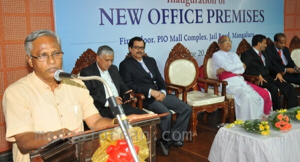 Mangaluru: MLA Lobo inaugurates Rachana New Office at Pio Mall