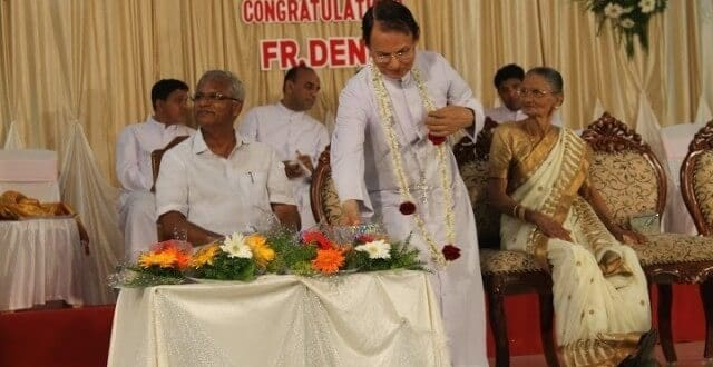 Udupi : Silver Jubilee of Priestly Ordination of Rev Fr. Denis D'Sa PRO of Udupi Diocese celebrated