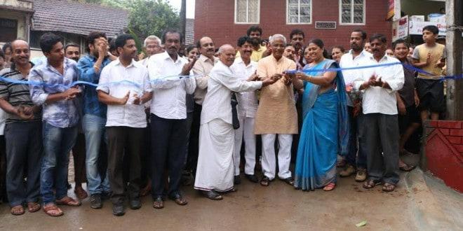 Mangaluru: MLA J R Lobo inaugurates Concrete Road at Sanyasigudda, Balmatta