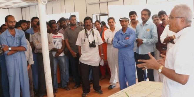 Mangaluru: MLA J R Lobo holds talks with loss-making Bharati Shipyard for revival