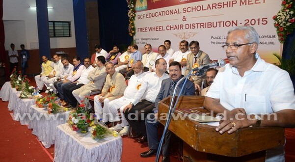 BCF distributes scholarships to 600 students, 60 wheelchairs to needy