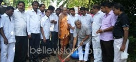 Mangaluru: MLA J R Lobo lays foundation to concreting Kadri Kambla Main Road @ Rs 2.30 crore