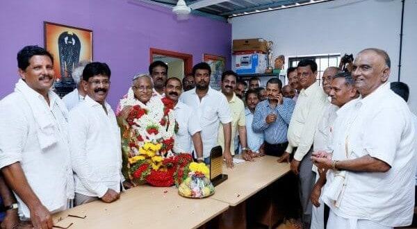 Shree Surya Narayana Temple felicitates MLA J R Lobo