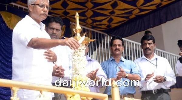 Lobo inaugurates Dasara, Rajiv Gandhi khel abhiyan sports