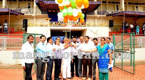 MLA J R Lobo Inaugurates Dasara Sports Meet at Mangala Stadium