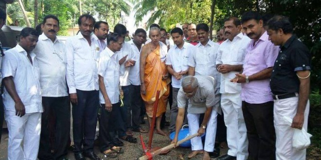 Rs 2.30 crore project near Kadri, Guddali Pooje by MLA JR Lobo