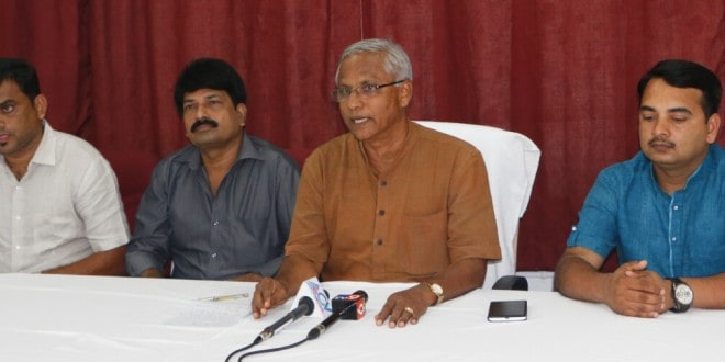 Press meet on Yettinahole project