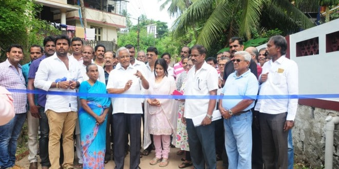 Road inaugurated in Kankanady B ward