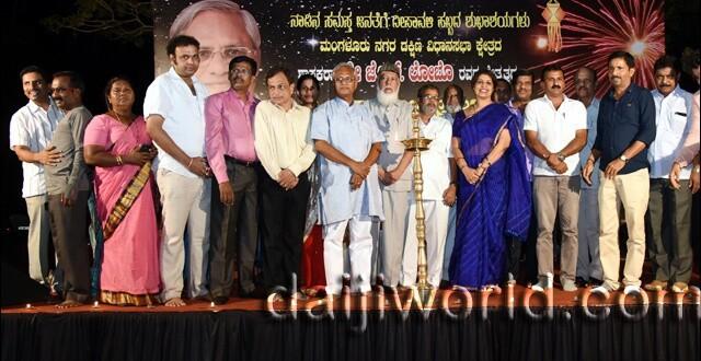 MLA J R Lobo celebrates Deepavali with children