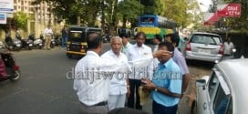 J R Lobo instructs officials to lay footpaths, shift bus stops