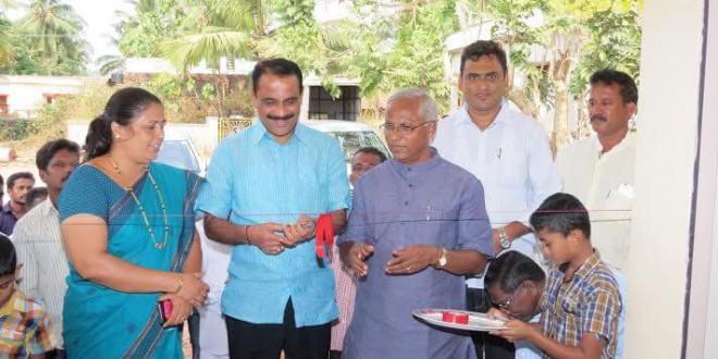 Mangaluru: MLA J R Lobo inaugurates Community Bldg at Kotimura, Kulshekar
