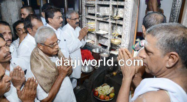 MLA Lobo offers prayers for rain at temple, church and mosque