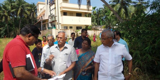 Mangaluru: MLA J R Lobo assures alternative road for stranded locals at Kanakarabettu