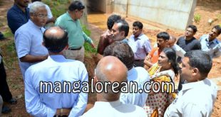 MLA Lobo Visits Jeppu Kudupady to Review Railway Underpass work