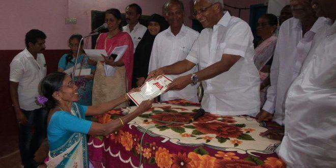 ಶಾಸಕ ಜೆ.ಆರ್.ಲೋಬೊ ಅವರು73 ಫಲಾನುಭವಿಗಳಿಗೆ ಸಾಲ ಮನ್ನಪತ್ರ ವಿತರಿಸಿದರು.