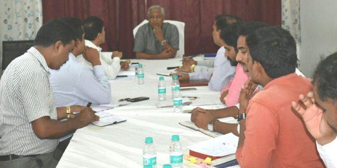 ಶಾಸಕ ಜೆ.ಆರ್.ಲೋಬೊ ಅವರು ಆಧಾರ್ ಪಡೆಯಲು ಅಧಿಕಾರಿಗಳ ಸಭೆ ನಡೆಸಿದರು