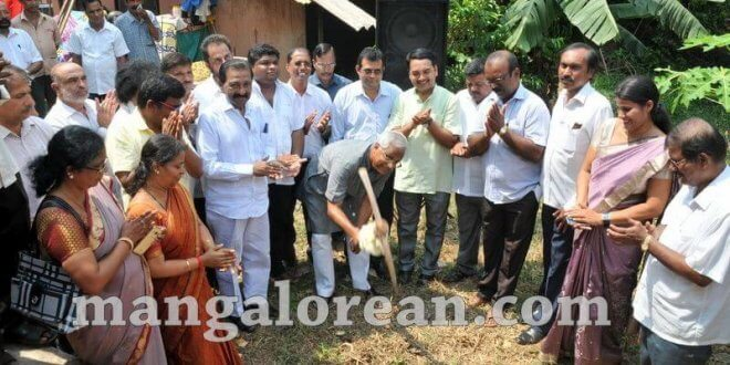 MLA Lobo performs Guddali Puja for Development of Bairady Pond